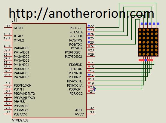 Menggunakan Dot Matrix Atmega Dengan Codevision(2)