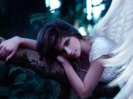 fallen beautiful angel
