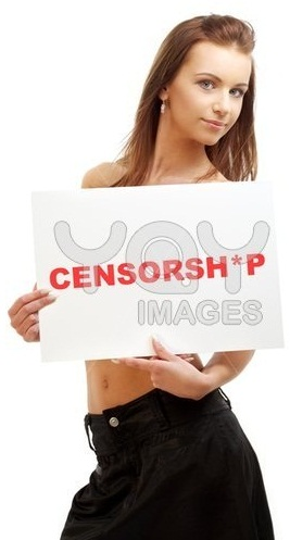 lovely-girl-holding-censorship-word-board-41421 Menembus Blokade Nawala  wallpaper