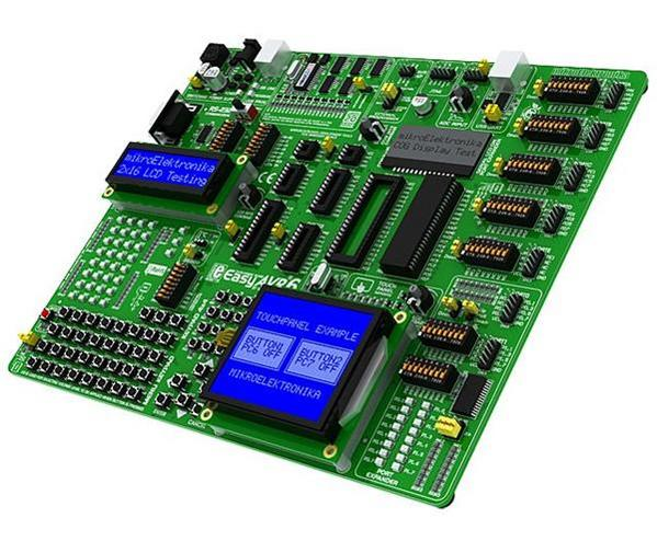 simulation board easyAVR 6