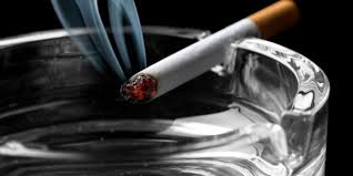 area merokok