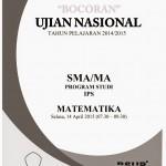 Bocoran Soal UN 2015