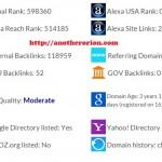 Meningkatnya Domain Authority Anotherorion.com