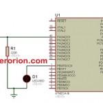 belajar mikrokontroler ATMega16; Membuat nyala led sesuai jumlah penekanan tombol