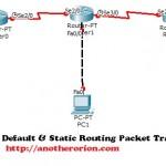 Download File Latihan Default & Static Routing Pada Packet Tracert