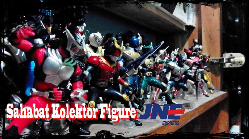 JNE express sahabat kolektor action figure