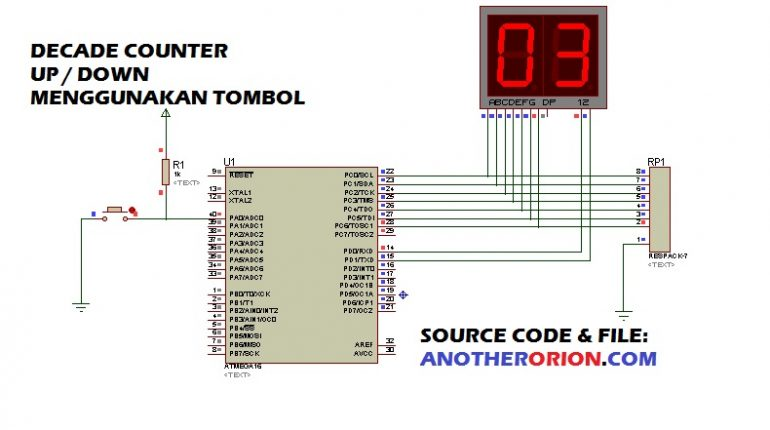 program-decade-counter-up-down-770x430 Membuat Digital Counter Up and Down menggunakan Tombol  wallpaper