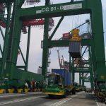 Kecanggihan teknologi di Terminal Teluk Lamong