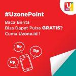 Cara mendapatkan pulsa gratis dari Uzone ID