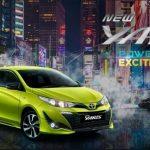 Tampilan Sporty Dari Mobil Toyota New Yaris