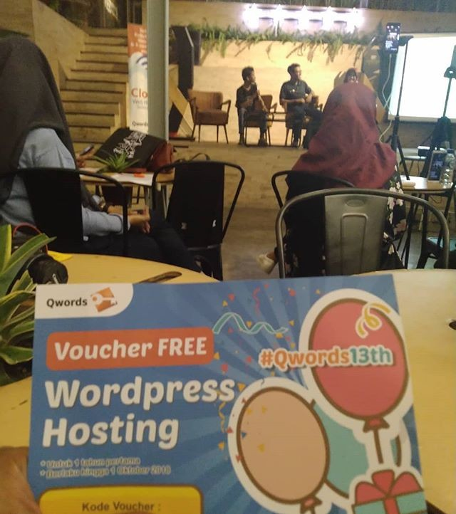 qwords 13th qtalk jogja creative preneur