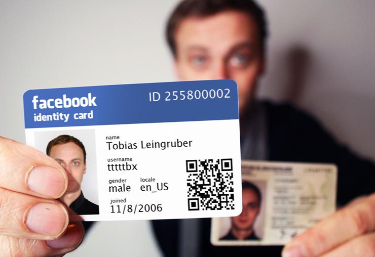 cara cek ID Facebook ID card