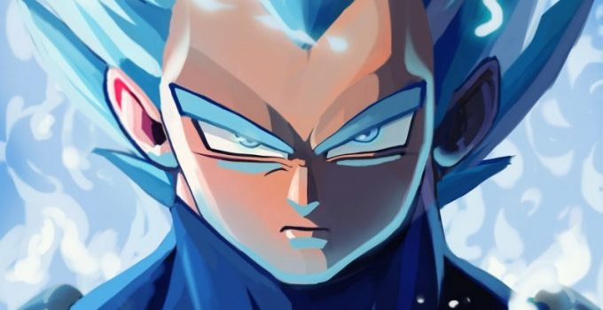 angry-vegeta-art the day nomber 2