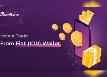 transaksi aset kripto Indonesia menggunakan IDR wallet