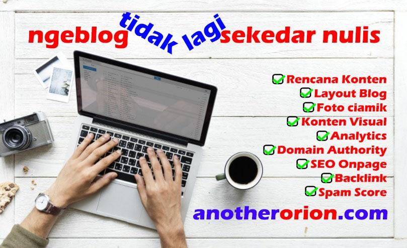 ngeblog tidak sekedar nulis doang