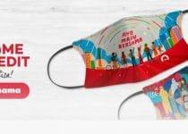 masker untuk indonesia x homecreditID